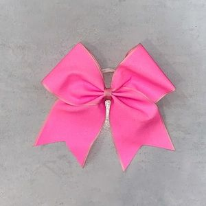 Pink Allstar Cheer Bow